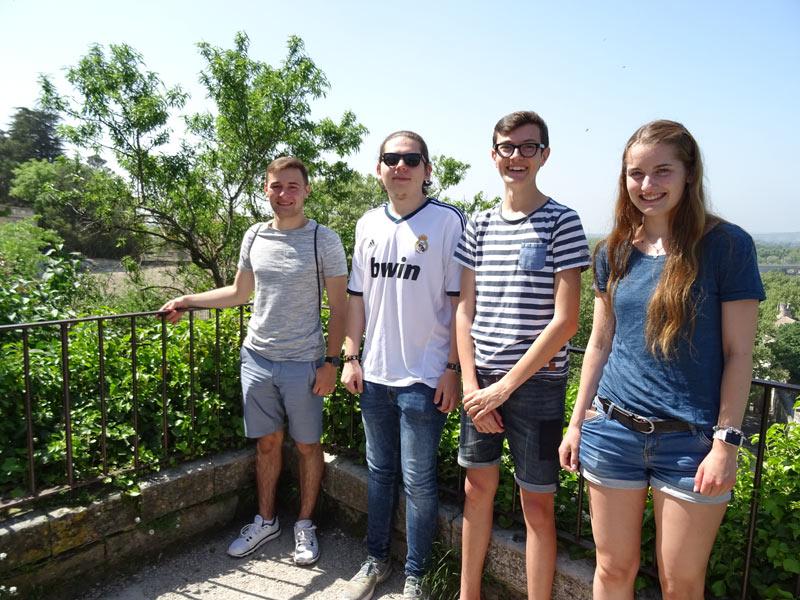 City trip in Avignon