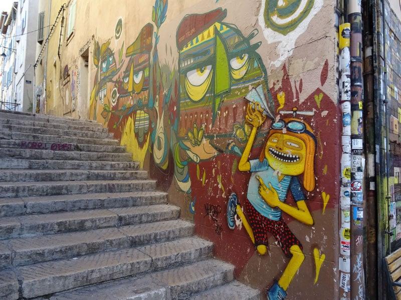 Marseille-street-art-stair