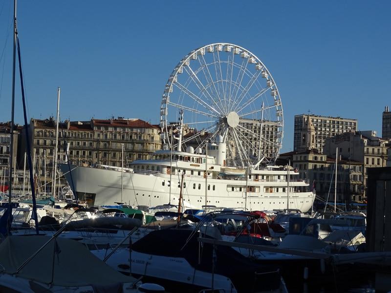 Vieux port yacht
