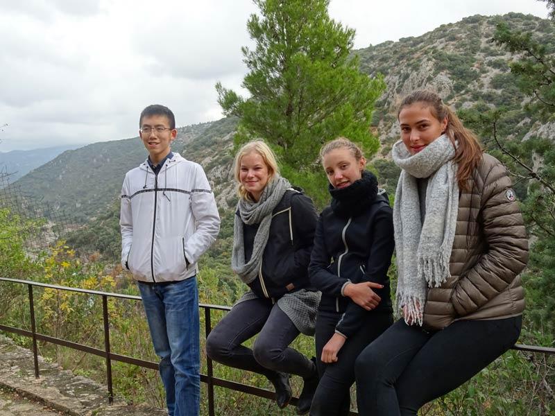 St guihem le desert students